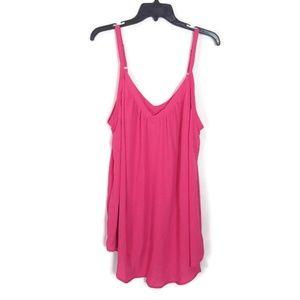 NWT! Torrid Pink Sleeveless Top